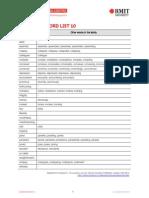 Academic Word Sublist 10