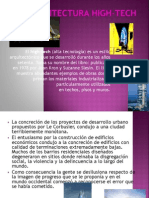 arquitectura hightech.ppt