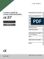 Manual Sony a37