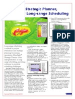 MSSP Tool for Long Range Scheduling 200207SE