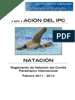 Reglamento NATACION 2011-2014 paralimpica