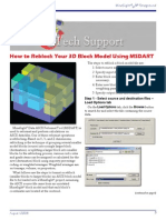 MSDART-Reblock Your 3-D Block Model-200808