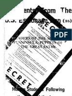 Documents from the U.S. Espionage Den volume 35