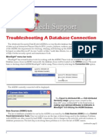 Database-Troubleshooting a Database Connection-200710