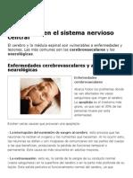 Trastornos en el sistema nervioso central _ Estructura y función de los seres vivos _ Icarito