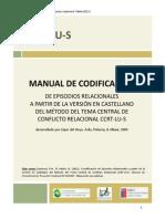 Espinosa-Valdes 2012 Manual Codificacion CCRT-LU-S
