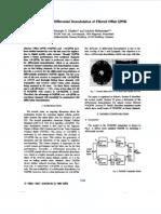 DOQPSK - Differential Demodulation of Filtered Offset QPSK