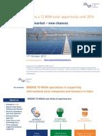 2012-10-11-Indian Solar Market - New Market New Chances