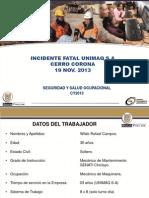 INCIDENTE FATAL UNIMAQ SA - CERRO CORONA 19 NOV 2013.pdf