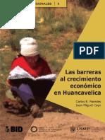 Las barreras al crecimiento económico en Huancavelica