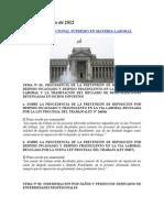 APUNTES SOBRE LA INTERPOSICIÓN DE LA DEMANDA DE AMPARO