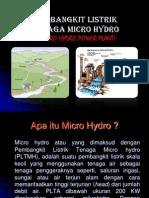 Micro Hydro Presentation