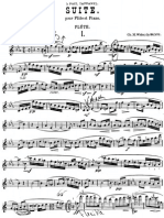Widor - Suite for flute and piano