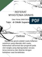 Referat Myastenia Gravis