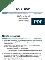 Cis185 Mod9 BGP
