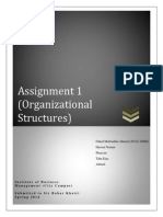 Organizational Chart of Mobilink