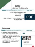 Cis185 Lecture EIGRP RoutingTCPIP