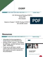 Cis185 Lecture EIGRP
