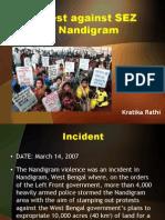 Protest Against SEZ in Nandigram