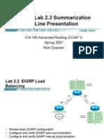 Cis185 Online Eigrp Lab 2 3