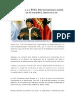 Presidente pide a la Unión Interparlamentaria emitir una resolución de defensa de la democracia en Venezuela.docx