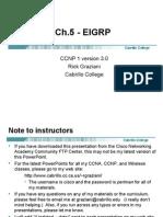 Cis185 Mod5 EIGRP
