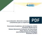 La E-evaluacion de Los Aprendizajes(2)