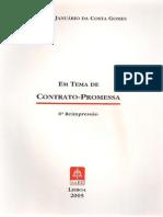 Em Tema de Contrato-Promessa - Januário da Costa Gomes