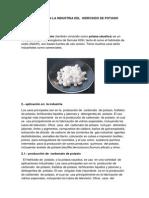Aplicado en La Industria Del Hidroxido de Potasio