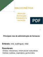Aula 3 - Farmacocinética - 2o sem 2013