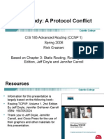 Cis185 Lecture2 CaseStudy ProtocolConflict