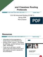 cis185-lecture2-ClassfulClasslessRoutingProtocols
