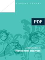 Intro to Peritoneal Dialysis Mar 2010