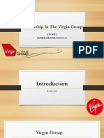 Leadership in the Virgin Group