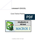 Manual Excel Macros I