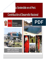 Mineria Sostenible en El Peru