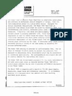 Amplifier Research 700A Datasheet