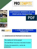 4 Contenidos Minimos de Una Propuesta Productiva