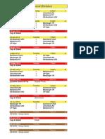 u12 Second Division - 2014