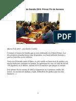 Primer Fin Semana Autonomico Gandia 2014