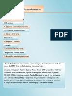 Evaluación de Ficha informativa