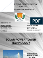 Solar Tower PpT