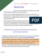 Capacidade Canal AWGN e Codigos Bloco e Convolucional Cap4 PUCRS