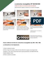 Instrucciones+de+Montaje++Cartuchos+Recargables+HP+364+ +564+ +920
