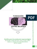 Cartilla Fundación Entre Mujeres Estelí