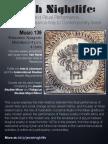 Jewish Nightlife Course Flyer | UC Berkeley (Fall 2014)
