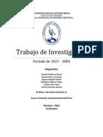 Periodo 1821-1884