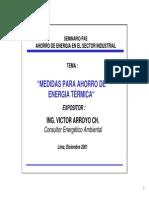 Medidas Para Ahorro Energia Termica