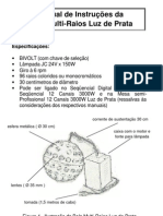 Manual Bola Multi Raios - Luz de Prata