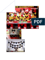 Adornos Fiesta Mickey